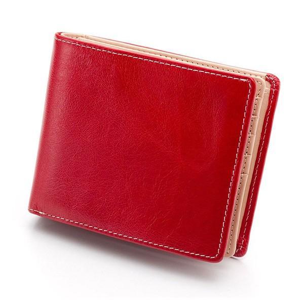 財布 メンズ 二つ折り 大容量 コンパクト 革 皮 牛革 本革 男性用 紳士革財布 30代 40代 50代 カードがたくさん入る 名入れ ギフト プレゼントに|wide|27