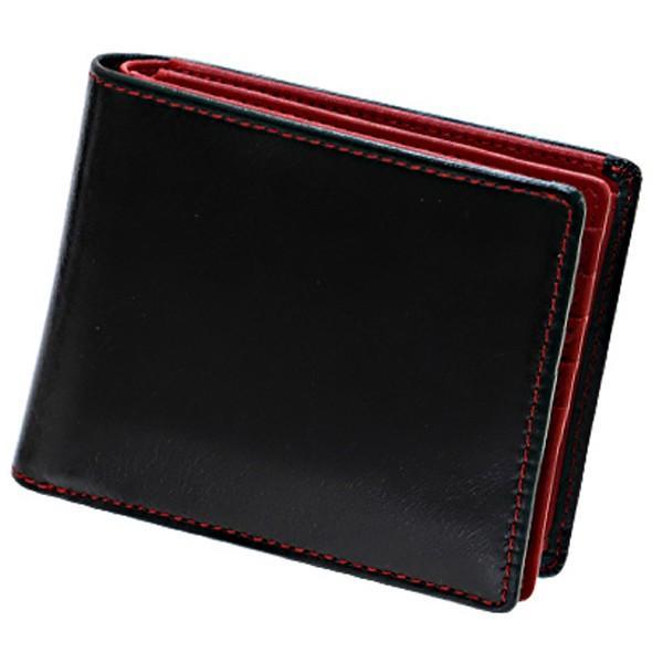 財布 メンズ 二つ折り 大容量 コンパクト 革 皮 牛革 本革 男性用 紳士革財布 30代 40代 50代 カードがたくさん入る 名入れ ギフト プレゼントに|wide|29