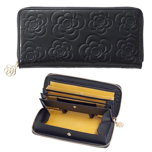 長財布 レディース 母の日 財布 プレゼント 社会人 花柄財布 女性物 本革 レザー かわいい ギャルソン財布 女性用 やりくり財布 大容量 wide 18