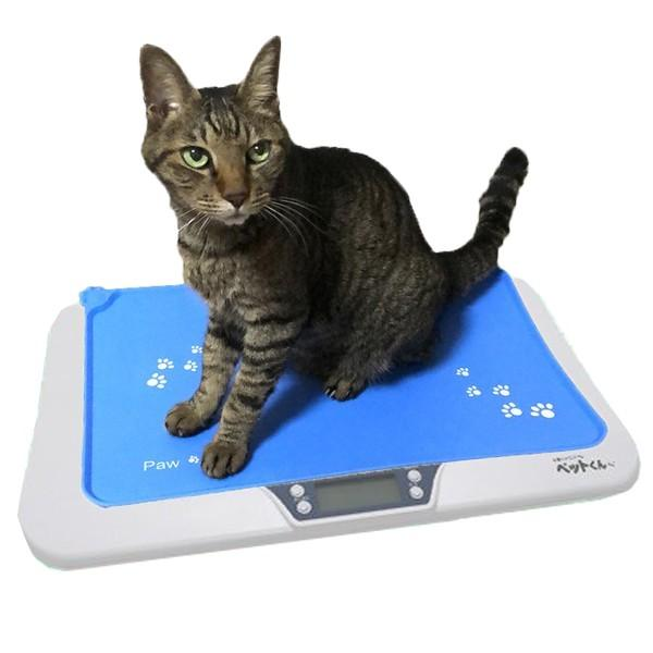 ペット用体重計 犬 猫 ペットスケール デジタル 子猫 子犬 ペット体重計 5g単位 小型 ペットくん ペット君 はかり ペット用品 ベビーペット wide 12