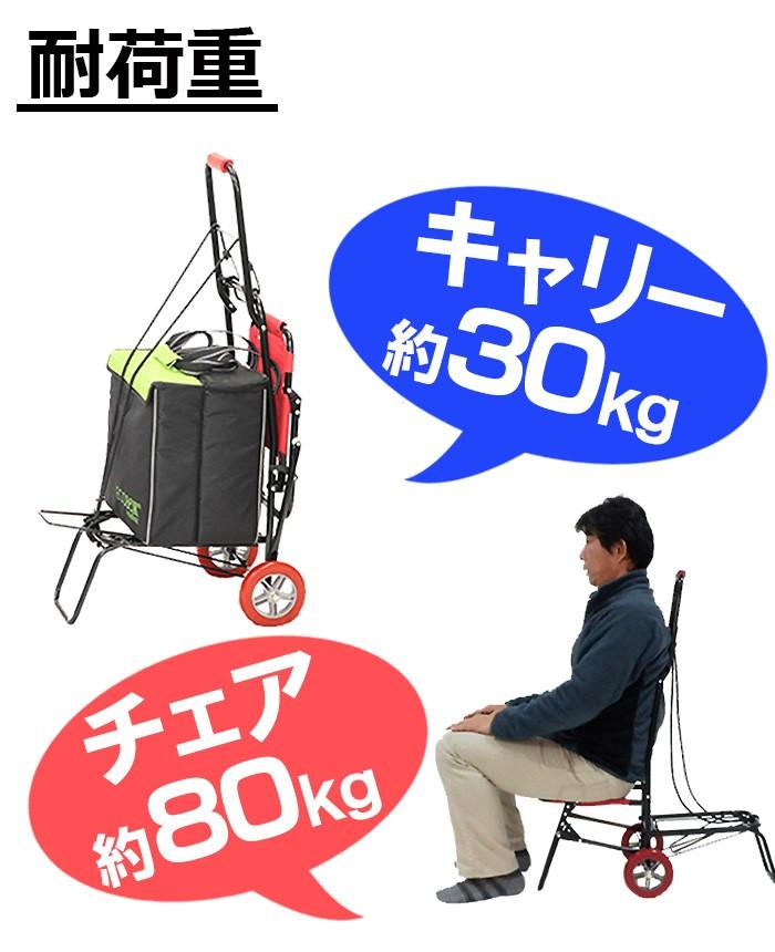 FSイス付キャリーカート [U-Q231]