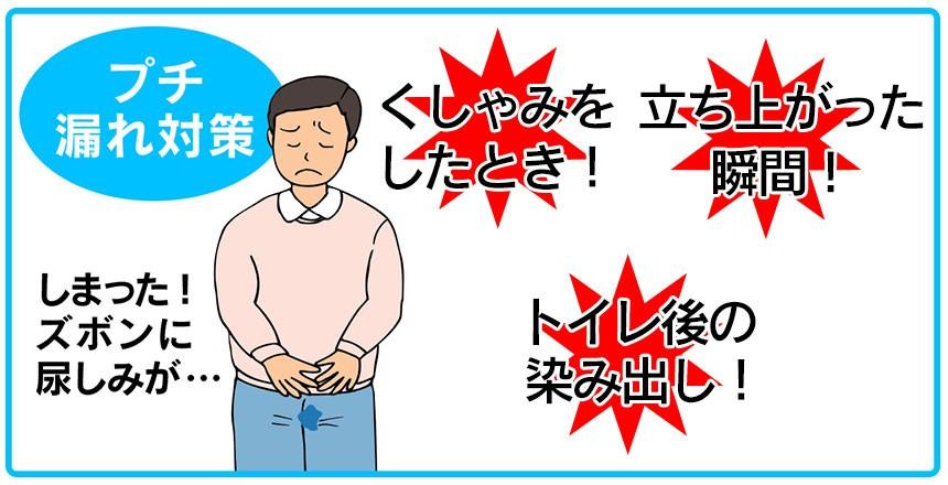 軽失禁対応メンズボクサーパンツ3色組