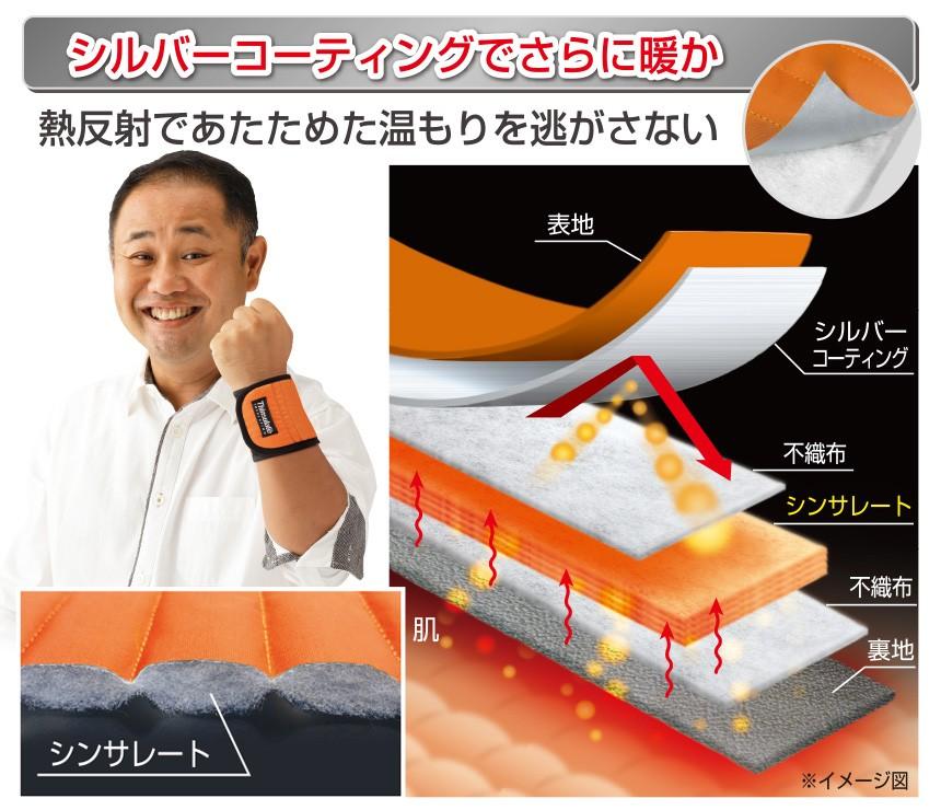 NEW 速暖ホットラップサポーター [手首・足首セット]【新聞掲載】