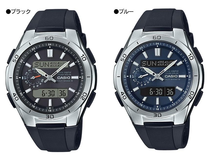 カシオ電波ソーラー腕時計ウェーブセプター WVA-M650【カタログ掲載1803】