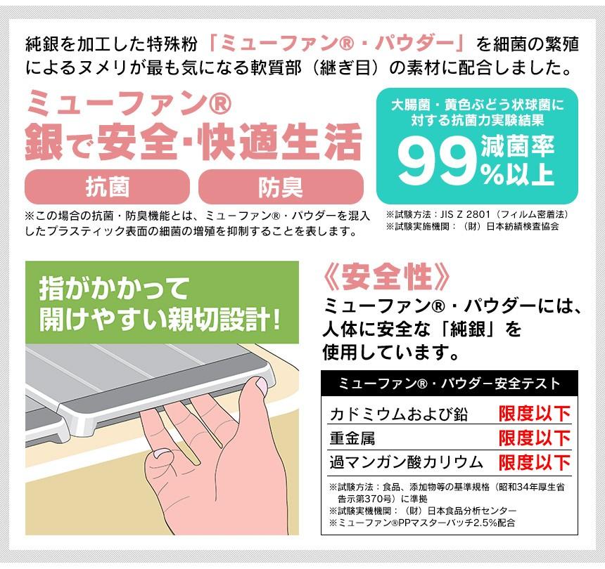 Ag+コンパクトにたためる風呂ふたL-12【75×120cm用】【新聞掲載】