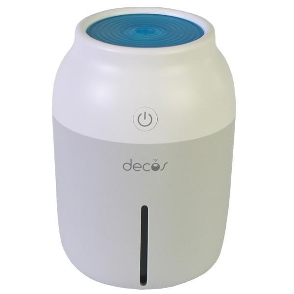 加湿器 USB 卓上加湿器 小型 コンパクト USB加湿器 超音波式 手入れ簡単 decos USB超音波式加湿器 乾燥対策 ミニ  家庭用 オフィス用 静音|wide|14