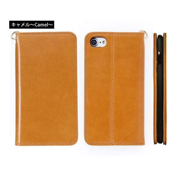 スマホケース 手帳型 iPhone8 iPhone7 本革 レザー 革 ケース おしゃれ マグネット プレゼント|wide|17