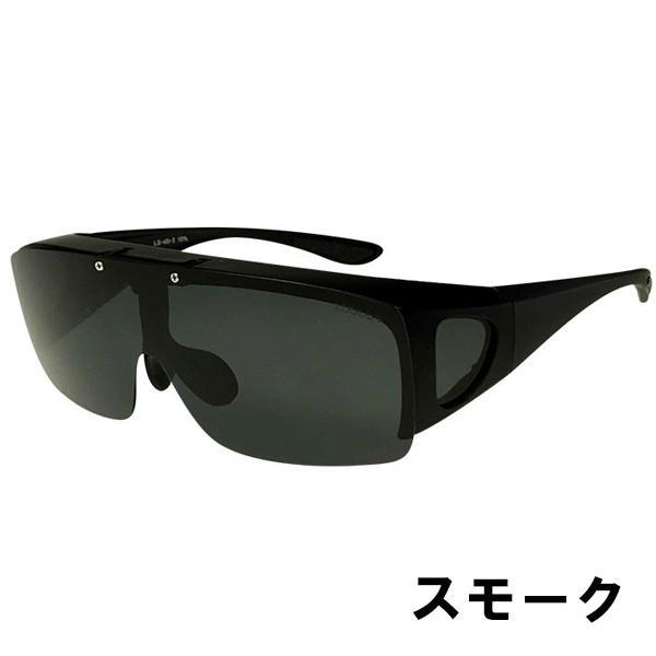 サングラス メンズ 偏光 オーバーサングラス  オーバーグラス ブランド ロゴス 紫外線対策 UVカット99% 跳ね上げ LOGOS ドライブ 釣り 旅行 夜間 ゴルフ 78084|wide|12