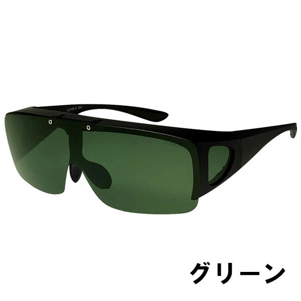 サングラス メンズ 偏光 オーバーサングラス  オーバーグラス ブランド ロゴス 紫外線対策 UVカット99% 跳ね上げ LOGOS ドライブ 釣り 旅行 夜間 ゴルフ 78084|wide|13