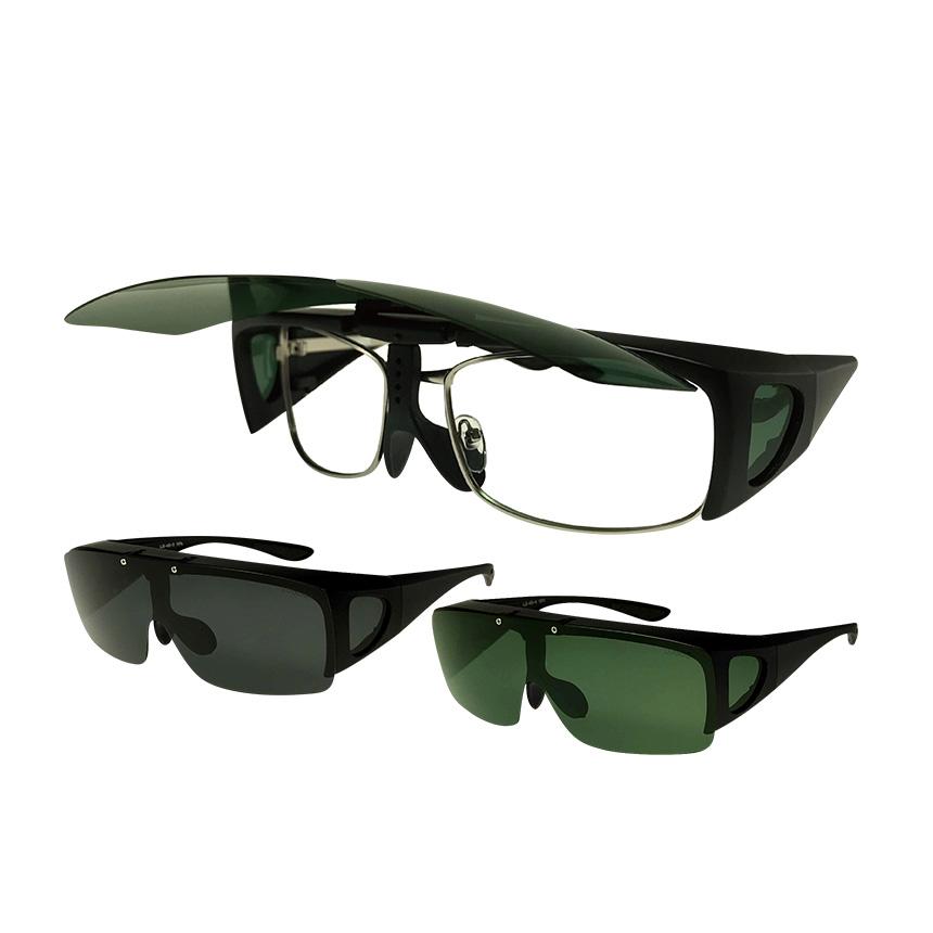 LOGOS跳ね上げオーバーサングラス