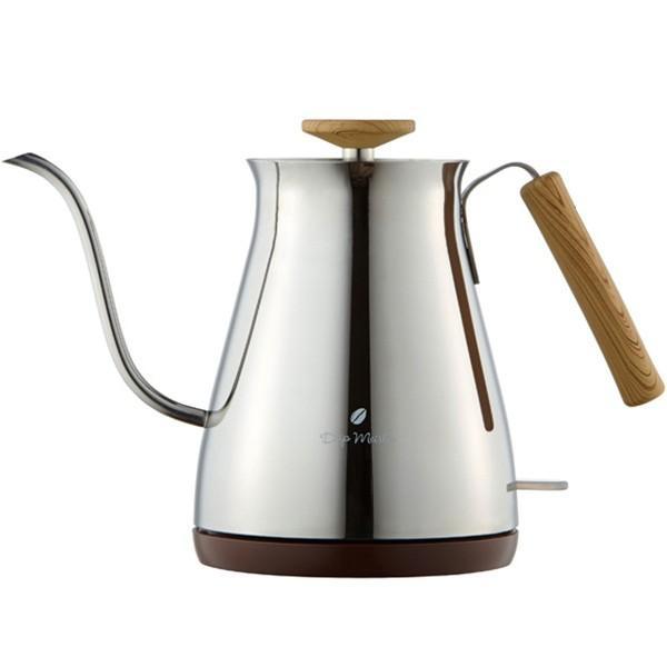 電気ケトル ステンレス おしゃれ コーヒー用 コーヒードリップ 電気ポッド 電気やかん 細口 スリムノズル 0.7L|wide|07