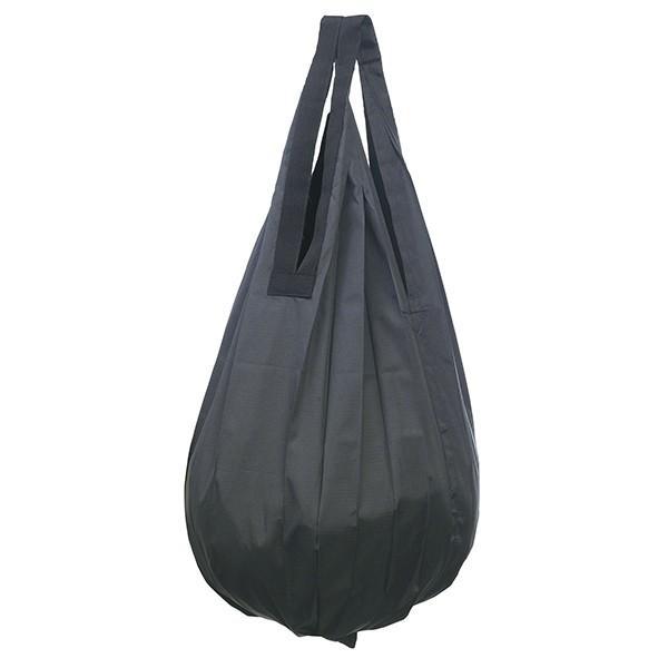エコバッグ 折りたたみ 折り畳み たためる おしゃれ シュパット コンパクトバッグ ドロップ shupatto しずく型 コットン 花柄 ドット 無地|wide|11