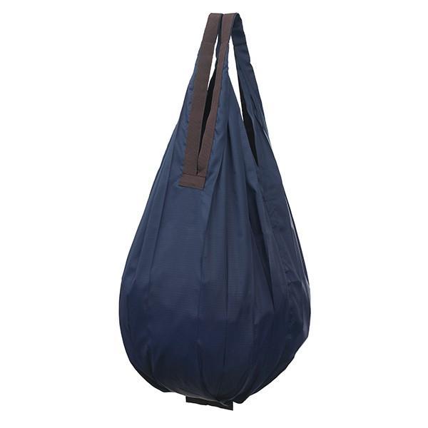 エコバッグ 折りたたみ 折り畳み たためる おしゃれ シュパット コンパクトバッグ ドロップ shupatto しずく型 コットン 花柄 ドット 無地|wide|15