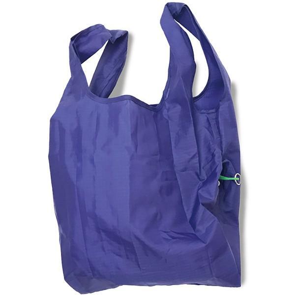 エコバッグ 折り畳み おしゃれ 小さい 買い物バッグ ミニ コンパクト 無地 軽量 スマホ 携帯 リング付き 耐荷重14kg ルーショッパー Lazy-A ROOTOTE ルートート|wide|12
