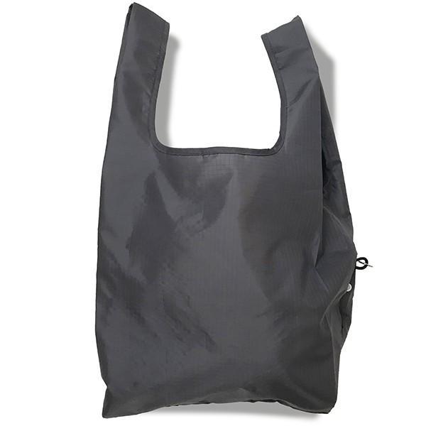 エコバッグ 折り畳み おしゃれ 小さい 買い物バッグ ミニ コンパクト 無地 軽量 スマホ 携帯 リング付き 耐荷重14kg ルーショッパー Lazy-A ROOTOTE ルートート|wide|14