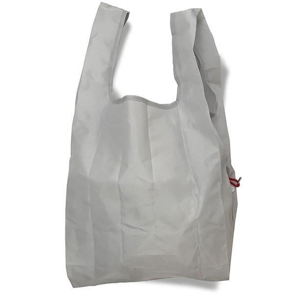 エコバッグ 折り畳み おしゃれ 小さい 買い物バッグ ミニ コンパクト 無地 軽量 スマホ 携帯 リング付き 耐荷重14kg ルーショッパー Lazy-A ROOTOTE ルートート|wide|15