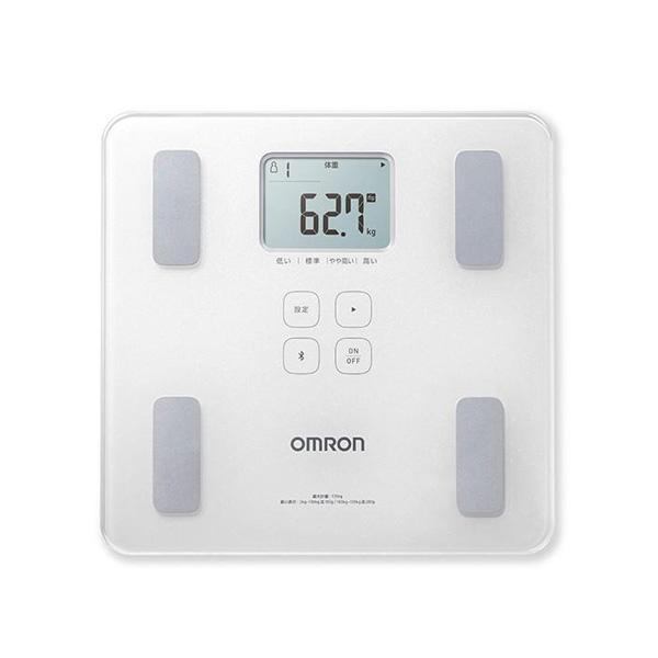 体重計 体重体組成計 スマホ連動 正確 体脂肪計付き体重計 オムロン omron iPhone ios アプリ ヘルスケア 連携 データ転送 スマホ カラダスキャン|wide|08
