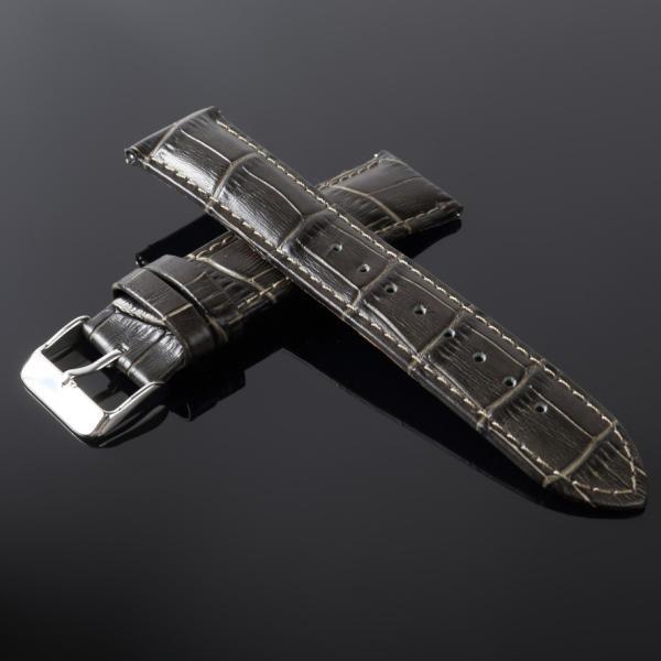 時計ベルト 時計バンド 革 ティミット 交換用 ベルト TIMEET 腕時計ベルト 16mm 18mm 20mm 22mm 牛革 本革 レザー メンズ レディース おしゃれ ワンタッチ 78384|wide|24