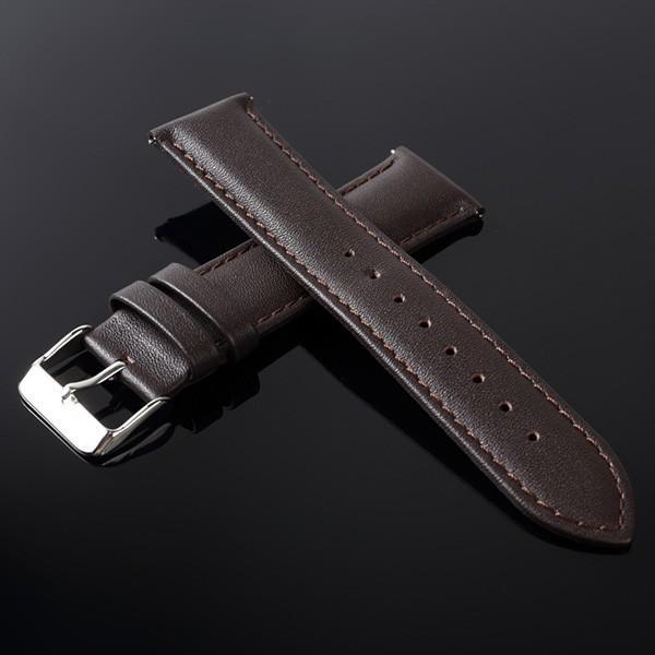 時計ベルト 時計バンド 革 ティミット 交換用 ベルト TIMEET 腕時計ベルト 16mm 18mm 20mm 22mm 牛革 本革 レザー メンズ レディース おしゃれ ワンタッチ 78384|wide|29