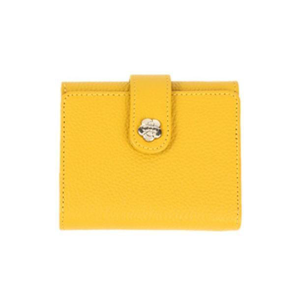 財布 レディース 三つ折り 革 ミニ財布 女性用 婦人用 ミニマリスト 小さい財布 使いやすい カードが入る 小銭入れ ブランド 牛革 レザー ギフト プレゼントに|wide|24