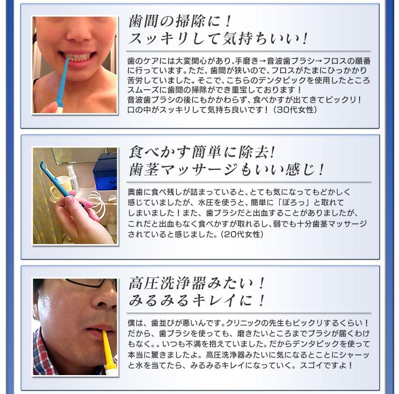 口腔洗浄機デンタピック