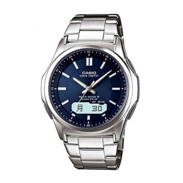 腕時計 メンズ 電波ソーラー カシオ アナログ 薄型 見やすい おしゃれ 男性用 紳士 日付 曜日 軽い 薄い ブランド CASIO ギフト 就職祝い|wide02|22