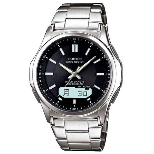 腕時計 メンズ 電波ソーラー カシオ アナログ 薄型 見やすい おしゃれ 男性用 紳士 日付 曜日 軽い 薄い ブランド CASIO ギフト 就職祝い|wide02|23