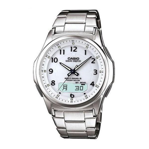 腕時計 メンズ 電波ソーラー カシオ アナログ 薄型 見やすい おしゃれ 男性用 紳士 日付 曜日 軽い 薄い ブランド CASIO ギフト 就職祝い|wide02|24