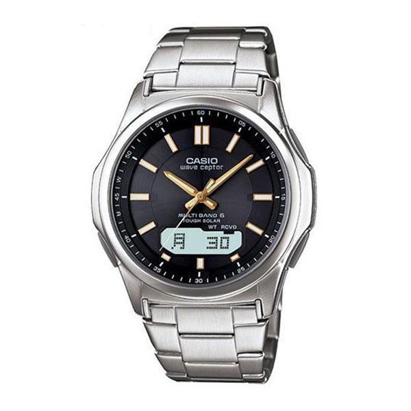 腕時計 メンズ 電波ソーラー カシオ アナログ 薄型 見やすい おしゃれ 男性用 紳士 日付 曜日 軽い 薄い ブランド CASIO ギフト 就職祝い|wide02|25