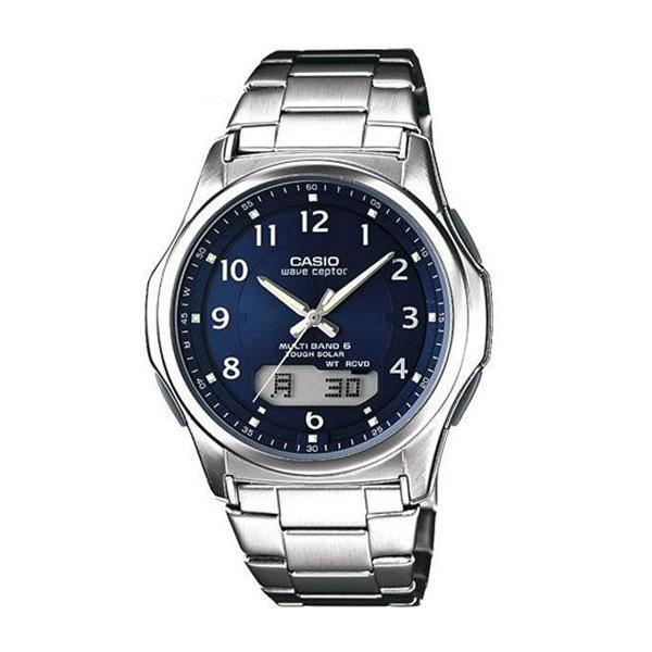 腕時計 メンズ 電波ソーラー カシオ アナログ 薄型 見やすい おしゃれ 男性用 紳士 日付 曜日 軽い 薄い ブランド CASIO ギフト 就職祝い|wide02|28
