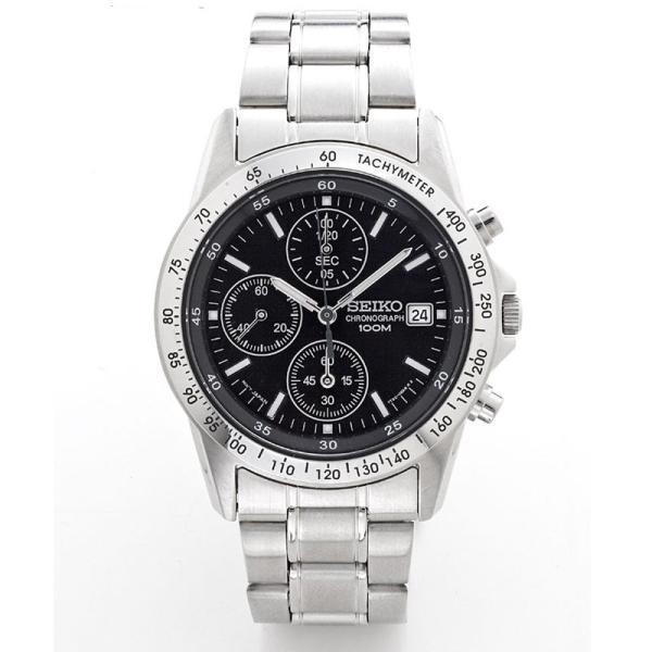 セイコー 腕時計 クロノグラフ メンズ腕時計 逆輸入 プレゼント 誕生日 ギフト セイコー腕時計 SND アナログ クォーツ 防水 10気圧防水 ストップウォッチ SEIKO wide02 02