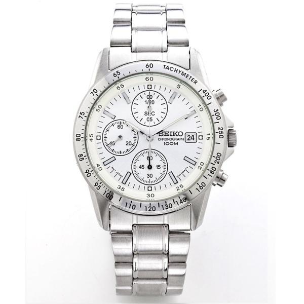 セイコー 腕時計 クロノグラフ メンズ腕時計 逆輸入 プレゼント 誕生日 ギフト セイコー腕時計 SND アナログ クォーツ 防水 10気圧防水 ストップウォッチ SEIKO wide02 03