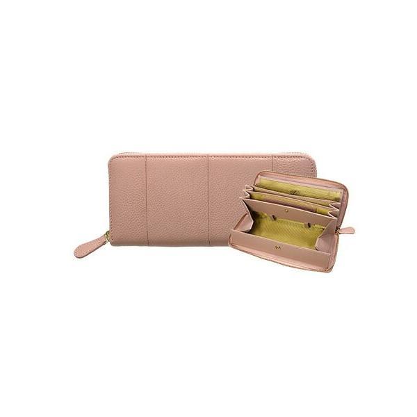 長財布 レディース 大容量 本革 ラウンドファスナー 使いやすい 女性用 メンズ ギャルソン財布 カードたくさん入る 75564|wide02|20