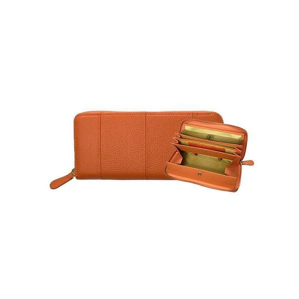 長財布 レディース 大容量 本革 ラウンドファスナー 使いやすい 女性用 メンズ ギャルソン財布 カードたくさん入る 75564|wide02|21