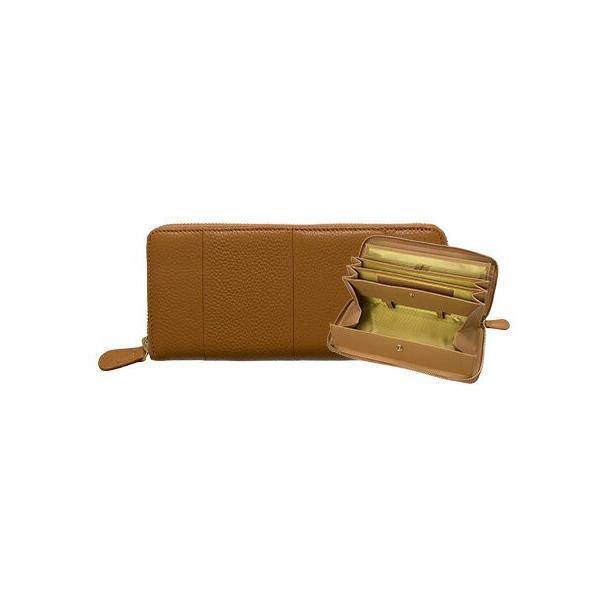 長財布 レディース 大容量 本革 ラウンドファスナー 使いやすい 女性用 メンズ ギャルソン財布 カードたくさん入る 75564|wide02|23