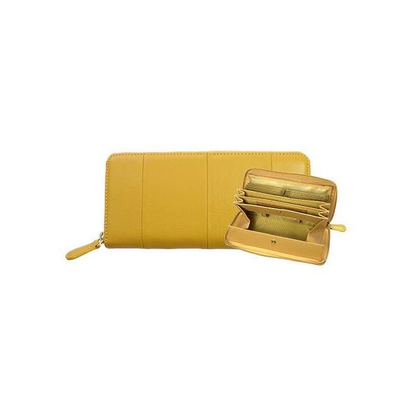 長財布 レディース 大容量 本革 ラウンドファスナー 使いやすい 女性用 メンズ ギャルソン財布 カードたくさん入る 75564|wide02|25