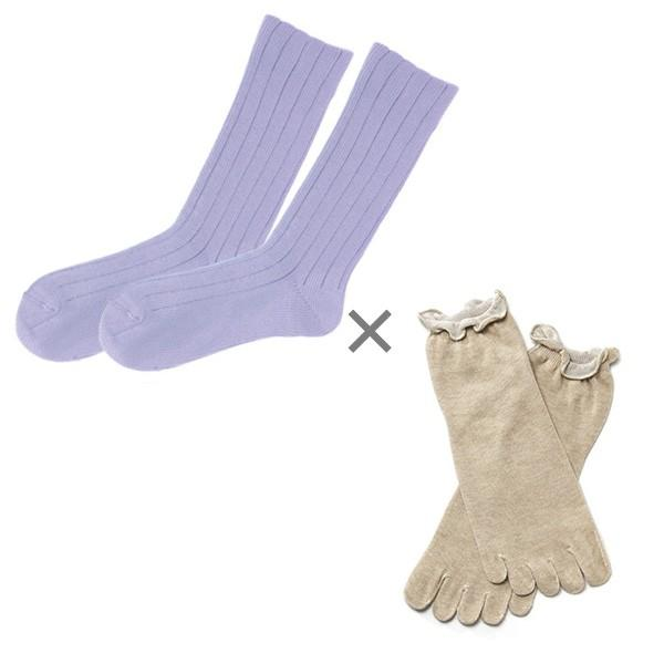 冷え取り靴下 シルク 日本製 5本指ソックス 重ねばき靴下 2枚 足首 冷え対策 冬 冷え性対策 綿 レディース 子供 保温 暖かい ギフト クリスマスプレゼント|wide02|23
