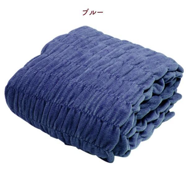 発熱毛布 日本製 毛布 掛け毛布  ロマンス小杉 ウォームサポート  ウォームケット コットンケット 掛毛布 あったか毛布 綿 コットン 吸湿 wide02 21