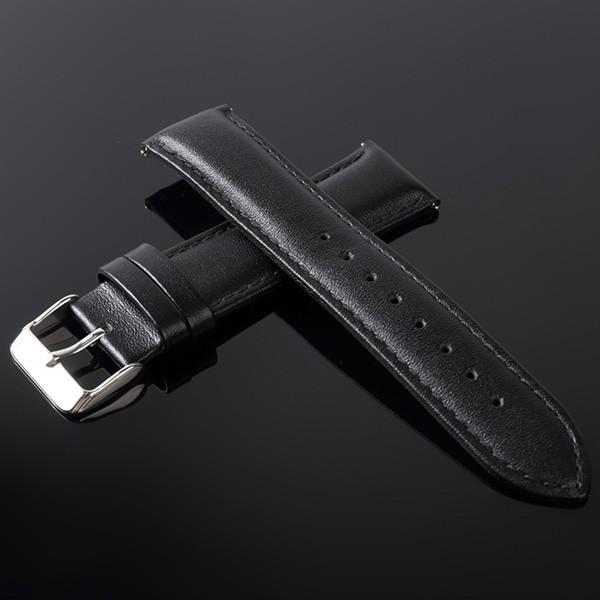 時計ベルト 時計バンド 革 ティミット 交換用 ベルト TIMEET 腕時計ベルト 16mm 18mm 20mm 22mm 牛革 本革 レザー メンズ レディース おしゃれ ワンタッチ 78384|wide02|28