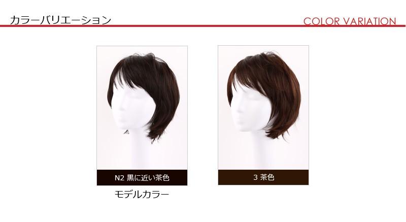 カラーは2色、N2:黒に近い茶色/3号:茶色