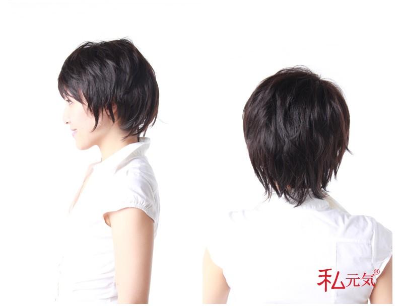 女性用ウィッグ ななめ左向きイメージ上半身