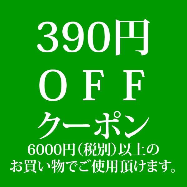 390円OFF!クーポン 6000円以上ご購入者様対象