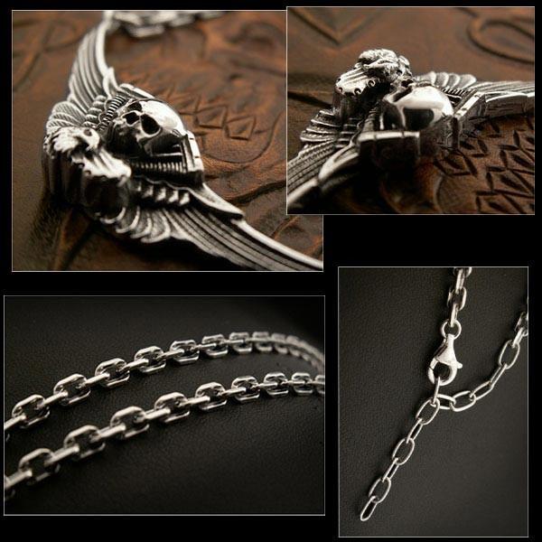 harley,davidson,skull,engine,eagle,sterling,silver,925,pendant,necklace,knucklehead engine
