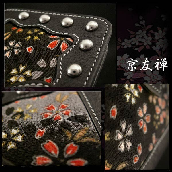 genuine,leathe, iphone,6,flip,case,wallet,cover,japanese,pattern