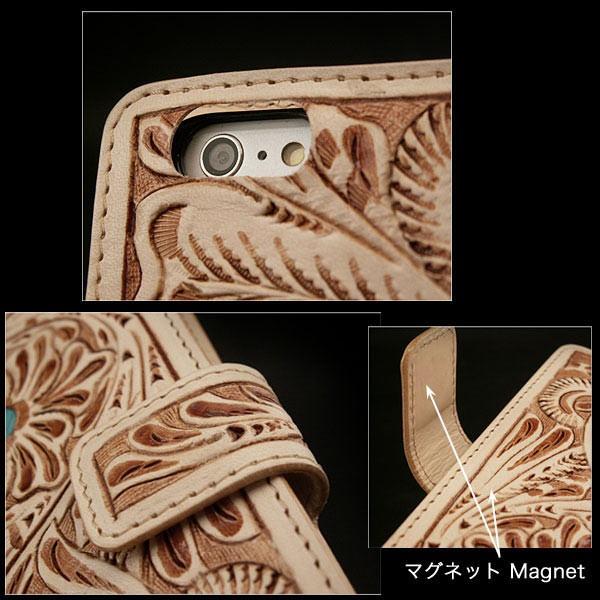 handmade leather 6/6s/7flip case
