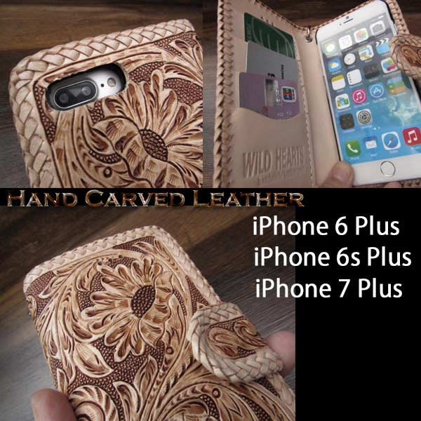 genuine,leather,iPhone,6,6s,7,Plus,flip,case,wallet,cover
