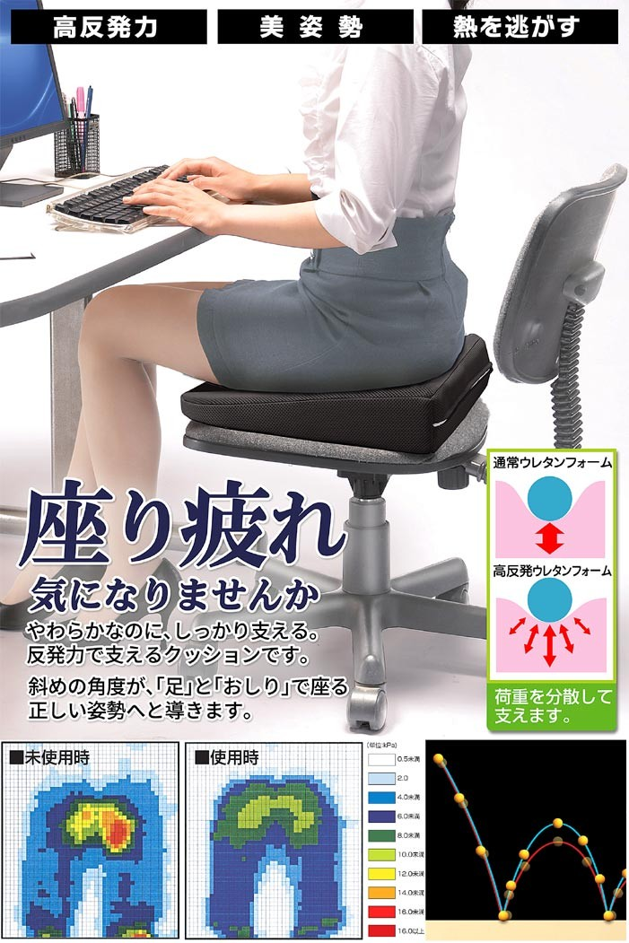 【高反発姿勢クッション】