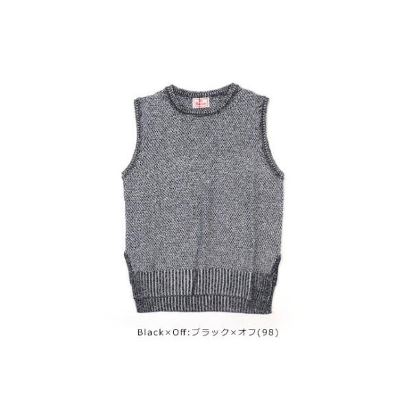 mao made (マオメイド)30/2 LINEN COTTON & 30/2 COTTON Series 綿麻ニットベスト 911131|womanremix|11