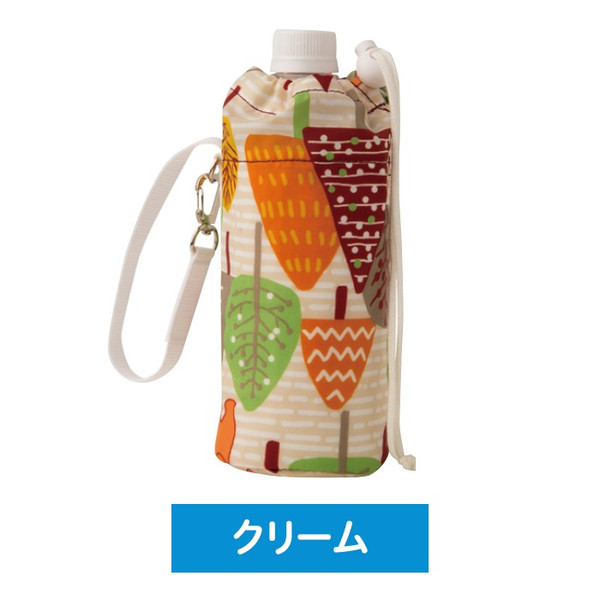500ml用 ペットボトルカバー ペットボトルケース 保冷専用  軽量 アルミポケット ストラップ付 保冷剤2個付|wonderfuroom|04