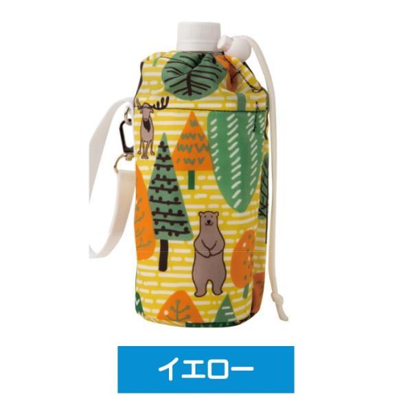 500ml用 ペットボトルカバー ペットボトルケース 保冷専用  軽量 アルミポケット ストラップ付 保冷剤2個付|wonderfuroom|05